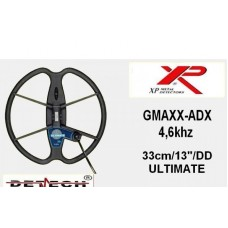"DETECH ULTIMATE 13""DD coil for XP Gmaxx ADX 4,6 Khz"
