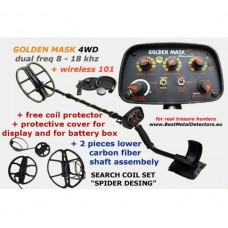 Golden Mask 4WD+Wireless headphones+Spider Set Coils