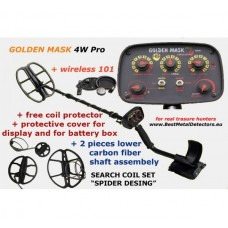 Golden Mask 4W Pro+Wireless headphones+Spider Set Coils